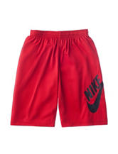 Nike SB Dri Fit Solid Color Red Shorts - Boys 8-20