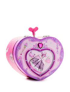Pecoware Heart Musical Jewelry Box