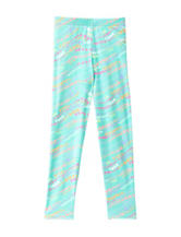 Wishful Park Mint Multicolor Dot Print Leggings – Toddlers & Girls 4-6x