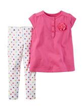 Carter's® 2-pc. Heart Leggings Set – Baby 12-24 Mos.