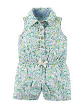 Carter's® Floral Romper - Baby 0-12 Mos.