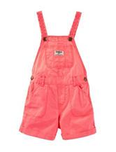 Oskosh B'gosh® Coral Shortalls - Baby 12-24 Mos.