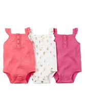 Carters®  3-pk. Summer Bodysuit Set - Baby 0-12 Mos.