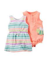 Carter's® 2-pk. Dress & Sunsuit Set - Baby 3-12 Mos.