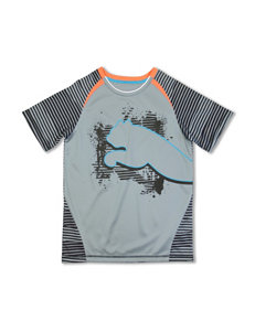 Puma® Striped Big Cat T-shirt – Boys 8-20