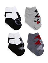 Baby Essentials 4-pk. Dapper Sock Set