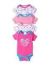 Baby Gear 4-pk. Butterfly Bodysuit Set - Baby 0-9 Mos.