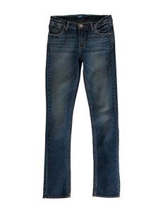 Levi's® Dark Blue Wash Skinny Jeans – Girls 7-16