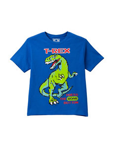 Chemistry Pixelated T-Rex Screen Print T-Shirt – Boys 8-20