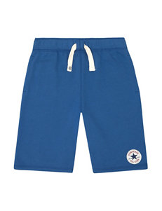 Converse Solid Color French Terry Drawstring Shorts – Boys 8-20