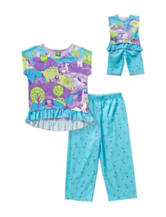 Dollie & Me 2-pc. Princess & Horse PJ Set – Girls 4-14