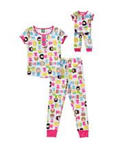Dollie & Me 2-pc. Princess Snug Fit Pajamas Set – Girls 4-14