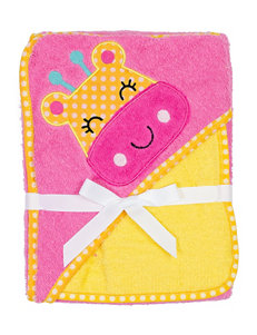 Baby Gear Pink Hooded Towels