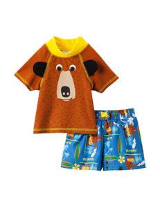 Paddle Bear 2-pc. Paddle Bear Rashgard Set – Baby 12-24 Mos.