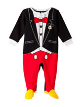 Disney Mickey Mouse Tuxedo Print Sleep & Play – Baby 0-9 Mos.