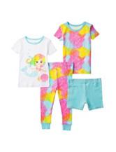 Candlesticks 4-pc. Mermaid Pajama Set – Baby 12-24 Mos.