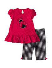 Baby Gear 2-pc. Red Ladybug Top And Pants Set – Baby 12-24 Mos.