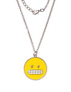 On the Verge Emoji Necklace