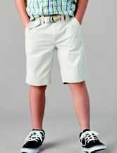 Nautica Sport Navy Chino Belted Shorts – Boys 8-20