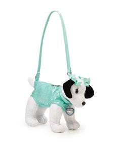Confetti Mint Sequins Dog Purse