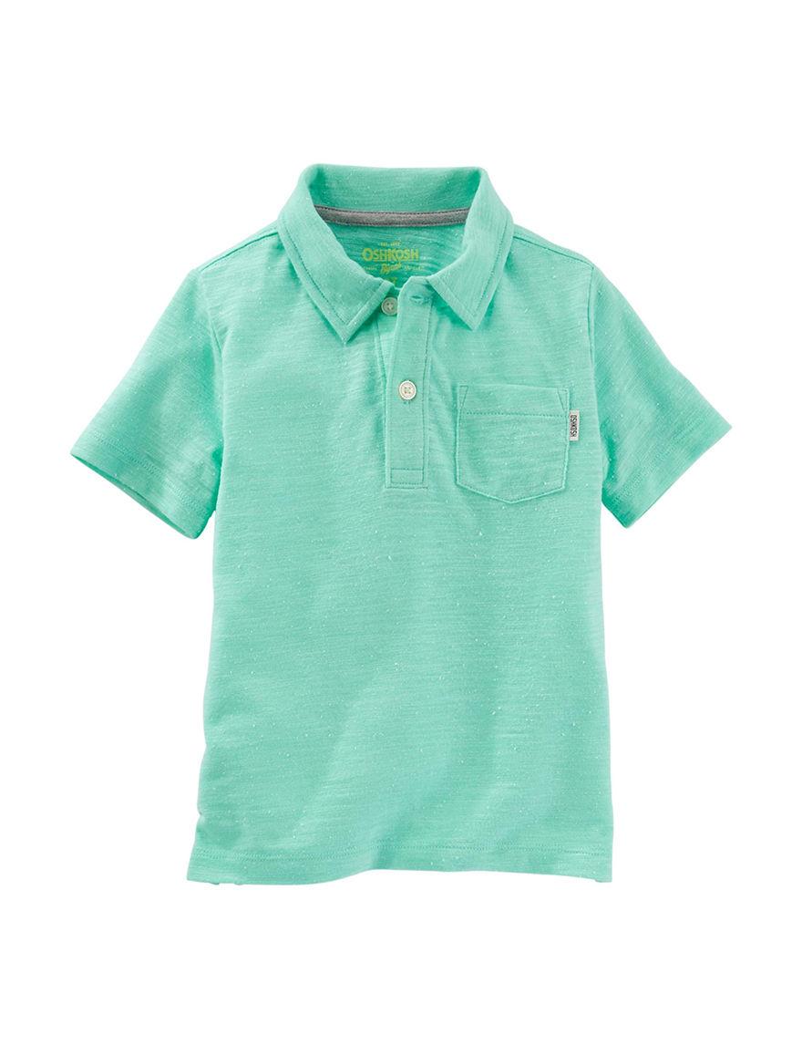 Oshkosh B'Gosh Green Polos