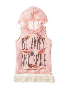 Beautees Be Happy & Smile Top – Girls 7-16