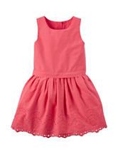 Carter's® Eyelet Lawn Dress - Girl's 4-8