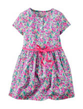 Carter's® Floral Poplin Dress Girl's 2-6x