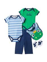 Baby Gear 5-pc. Prince Charming Bodysuit & Pants Set – Baby 0-9 Mos.