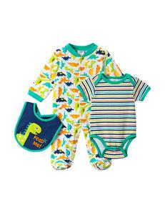 Baby Gear 3-pc. Dino Sleeper Set - Baby 0-6 Mos.