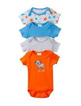 Baby Gear 4-pk. Puppy Bodysuits - Baby 0-9 Mos.
