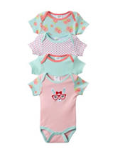 Baby Gear 4-pc. Bunny Bodysuit Set - Baby 0-9 Mos.