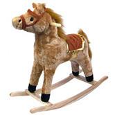Happy Trails Horse Plush Rocking Horse