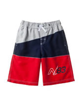 Nautica Color Block Swim Shorts – Boys 8-20