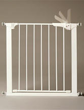 KidCo Solid Color White Gateway Pressure-Plus Gate G1030