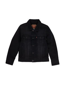Levi's Black Fleece & Soft Shell Jackets