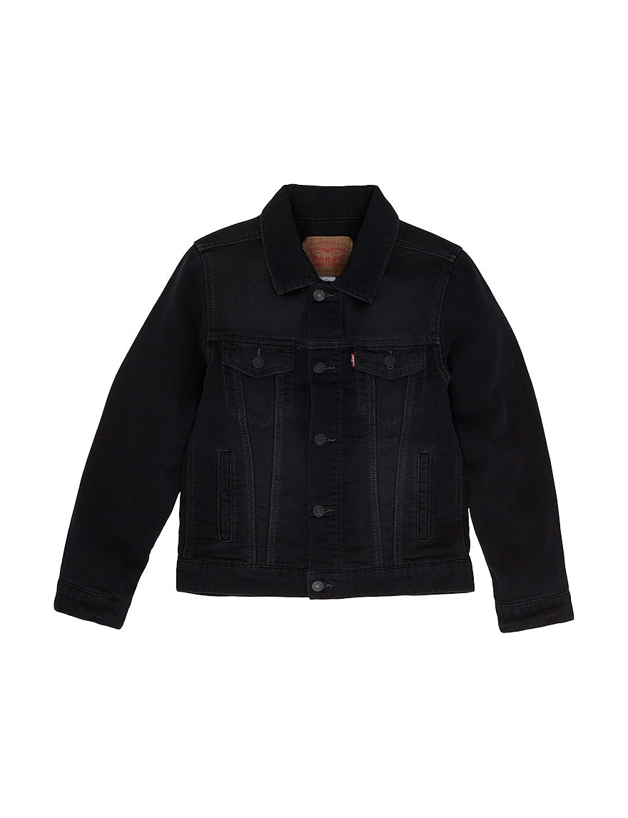 Levi's Black Fleece & Soft Shell Jackets