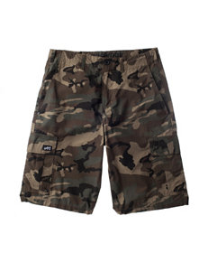 Zoo York Multicolor Camo Print Cargo Shorts - Boys 8-20
