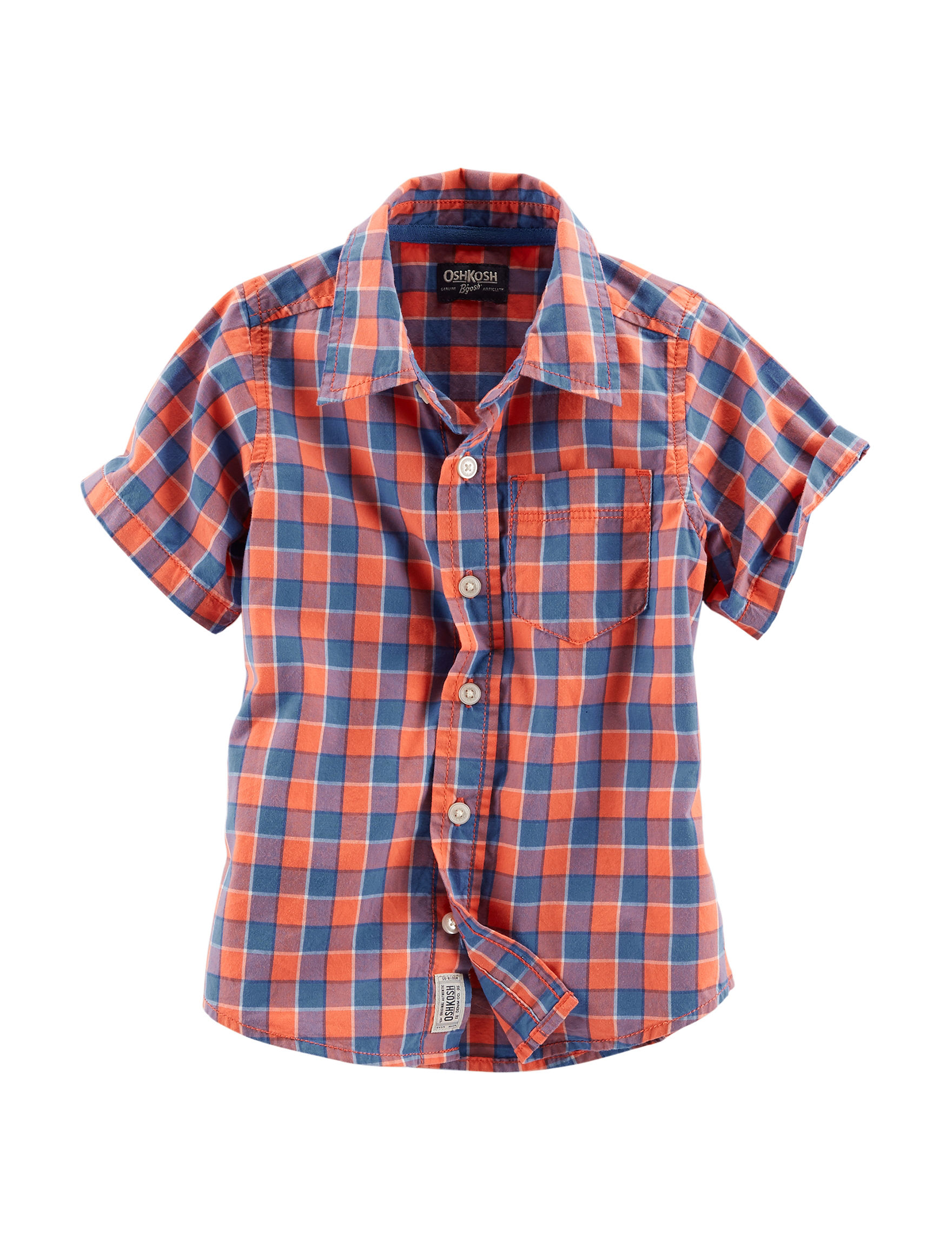 Oshkosh B'Gosh Blue Casual Button Down Shirts