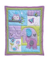 NoJo® Dreamland 4-pc. Purple Crib Set