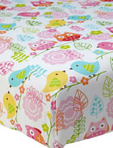 NoJo® Love Birds Crib Sheet