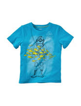 Carters® Blue Scuba Print T-shirt - Toddler Boys