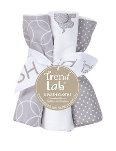Trend Lab Grey / White Towels