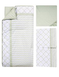Trend Lab 3-pc. Sea Foam Crib Bedding Set