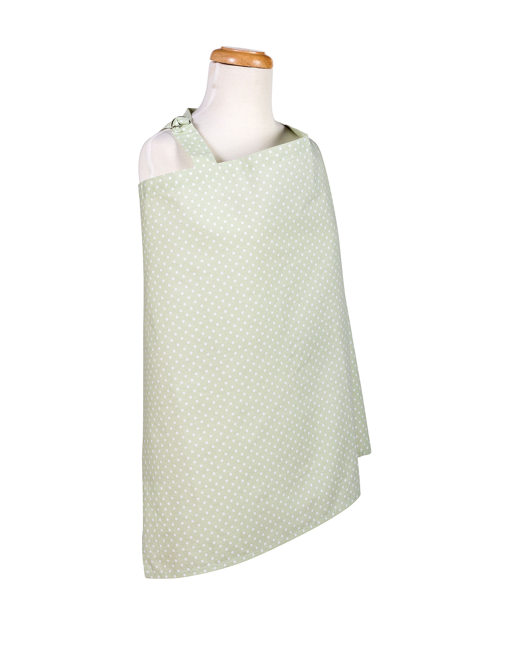 Trend Lab Green / White Bibs & Burp Cloths Breastfeeding