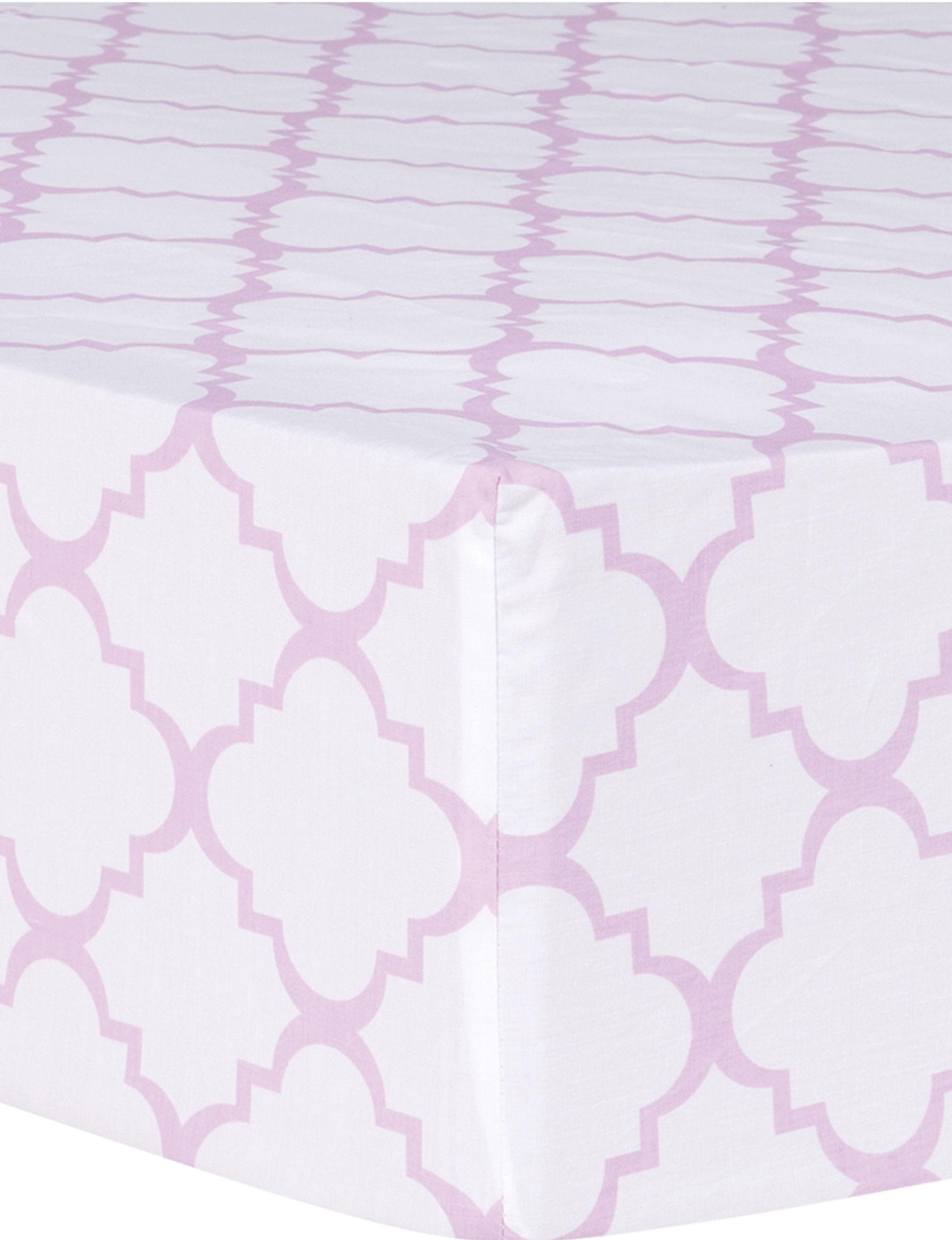 Trend Lab Purple / White