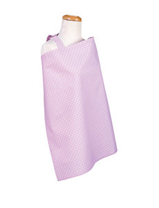 Trend Lab Orchid Bloom Dot Nursing Cover