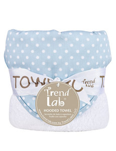 Trend Lab Blue / White Hooded Towels