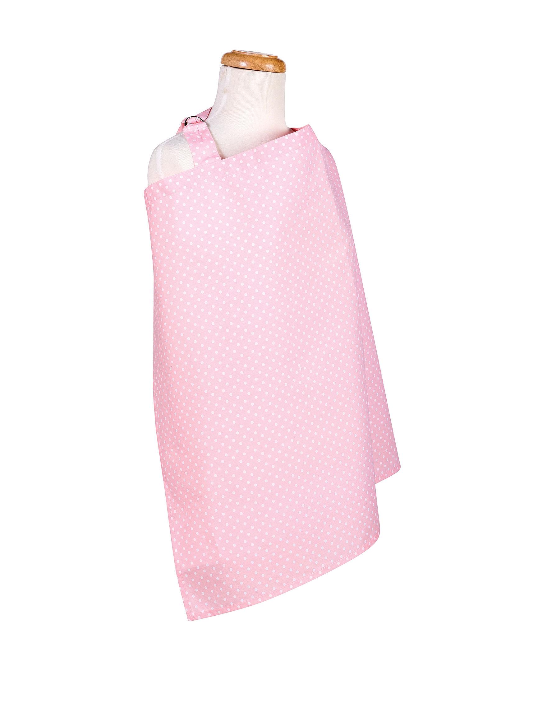Trend Lab Pink / White Breastfeeding