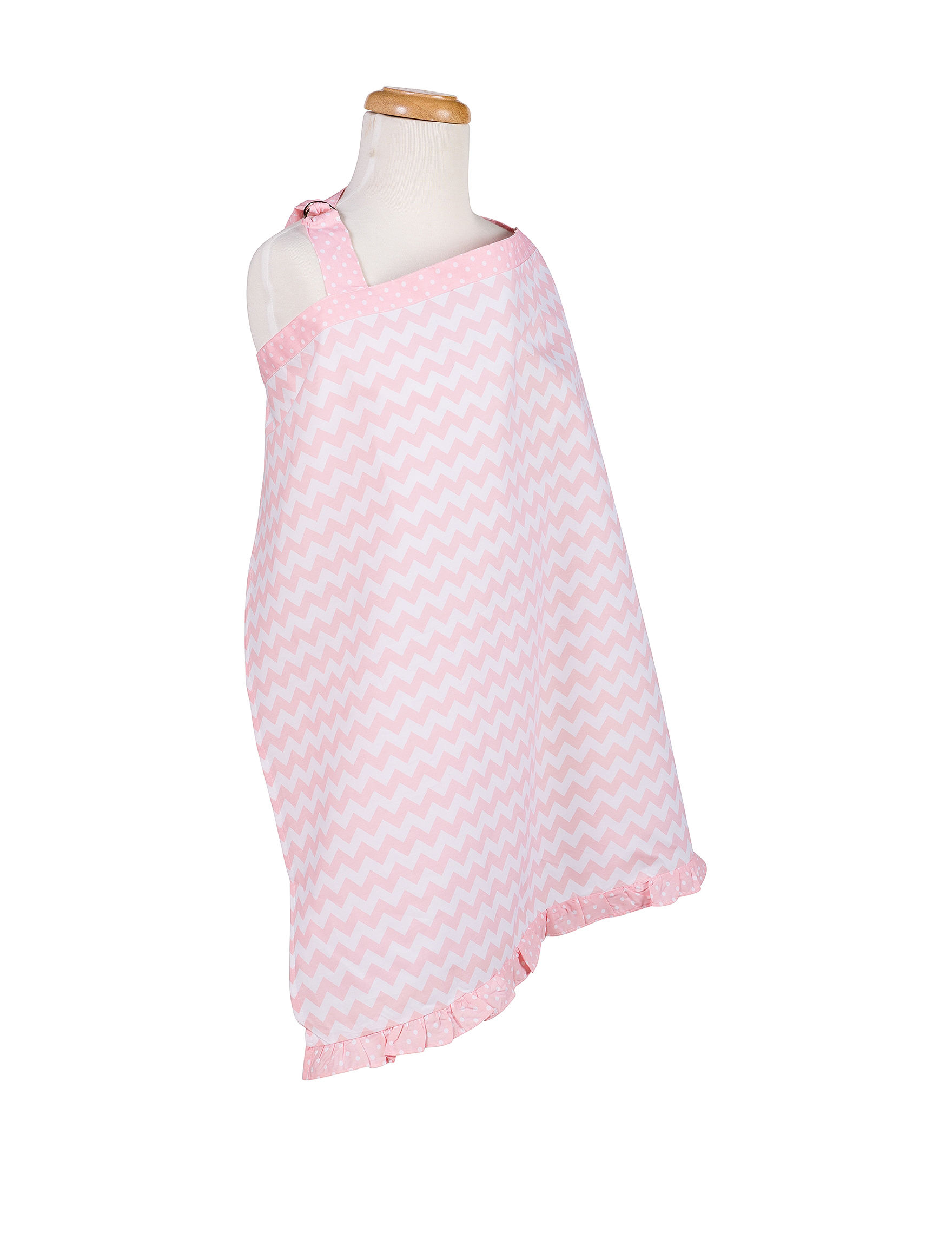 Trend Lab Pink / White Breastfeeding
